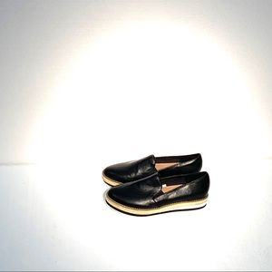 A new day black slip on shoes  8m